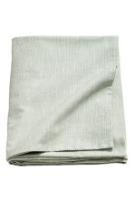 Slub-weave tablecloth - Dusky green - Home All | H&M CN 2